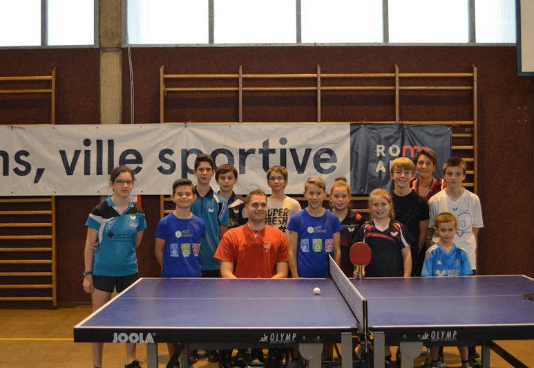 groupe elite tennis de table
