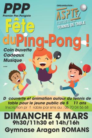 Fete du ping pong