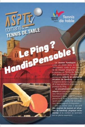 Tennis de Table Handisport